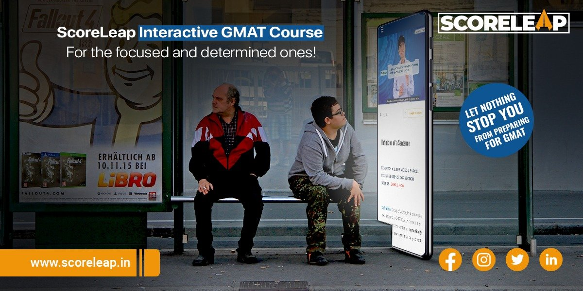 That's how easy and simple it is when you take up our new online GMAT course. Study whenever you want to and wherever you want to . Hurry up ! What are you waiting for?  Please contact +91 6364260009 for more details  #gmat #gmatexam #AnytimeAnywhere #easystudy