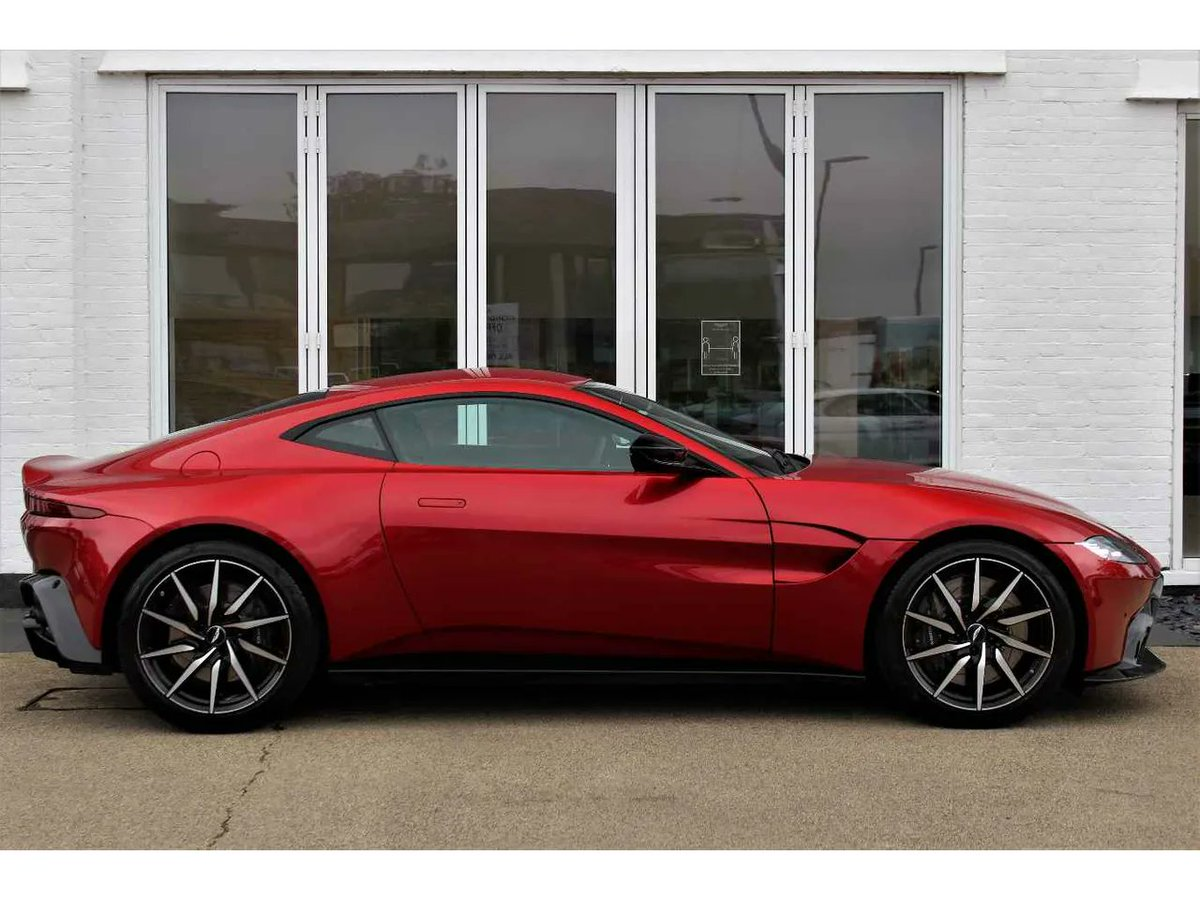 #Vantage is always comfortable under pressure.  Its heart beats with a high powered 4.0 litre twin-turbocharged V8, producing that visceral Aston Martin roar.  Book your test drive today with .@HWM_AstonMartin   #AstonMartin #Vantage #BeautifulWontBeTamed #V8
