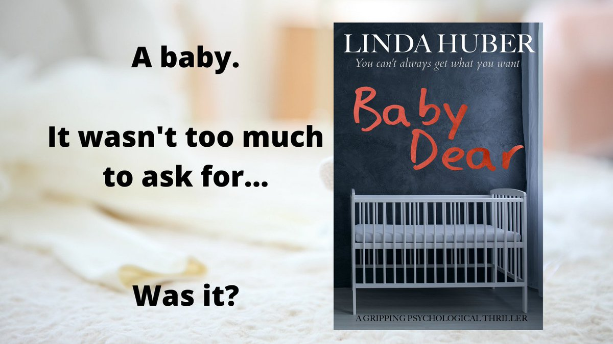 "#99p/c for a limited time!     A baby. Be careful what you wish for...       ⭐⭐⭐⭐⭐ ""I couldn't read it fast enough""  #thriller #KindleUnlimited #kindledeals #weekendreads"