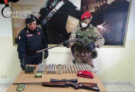 Traffico e detenzione di armi nel Ragusano, 3 arresti dei carabinieri (FOTO) - https://t.co/0IhVwLKZ90 #blogsicilianotizie