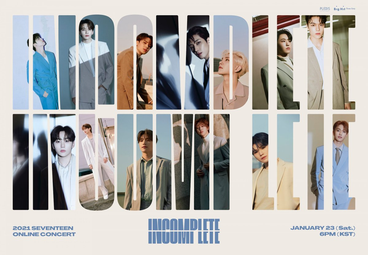 LIVE and •LIVE ..  #SEVENTEEN #SVT_IN_COMPLETE  <> Link :