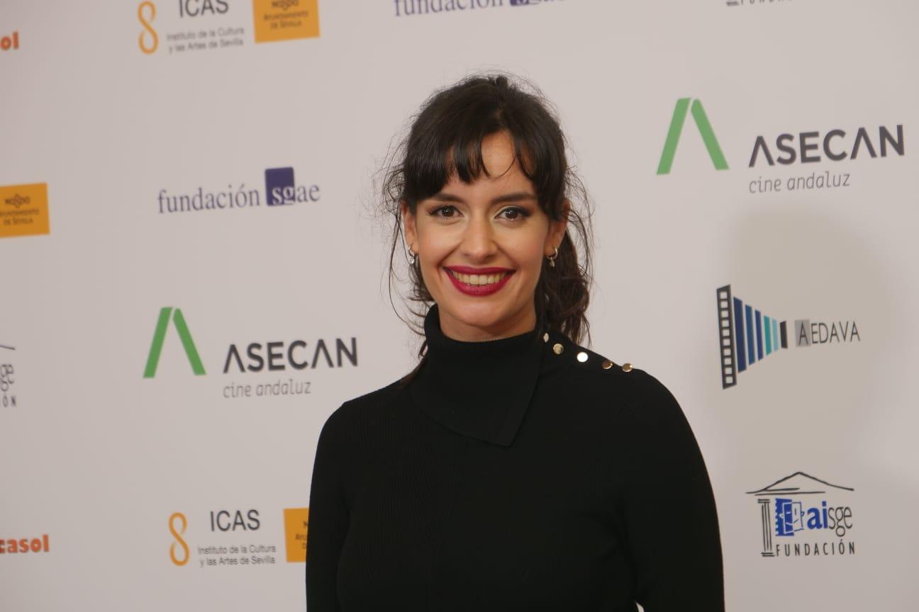 """ELOÍNA MARCOS AISGE a mejor interpretación femenina revelación por su trabajo en """"Mi gran despedida"""""""