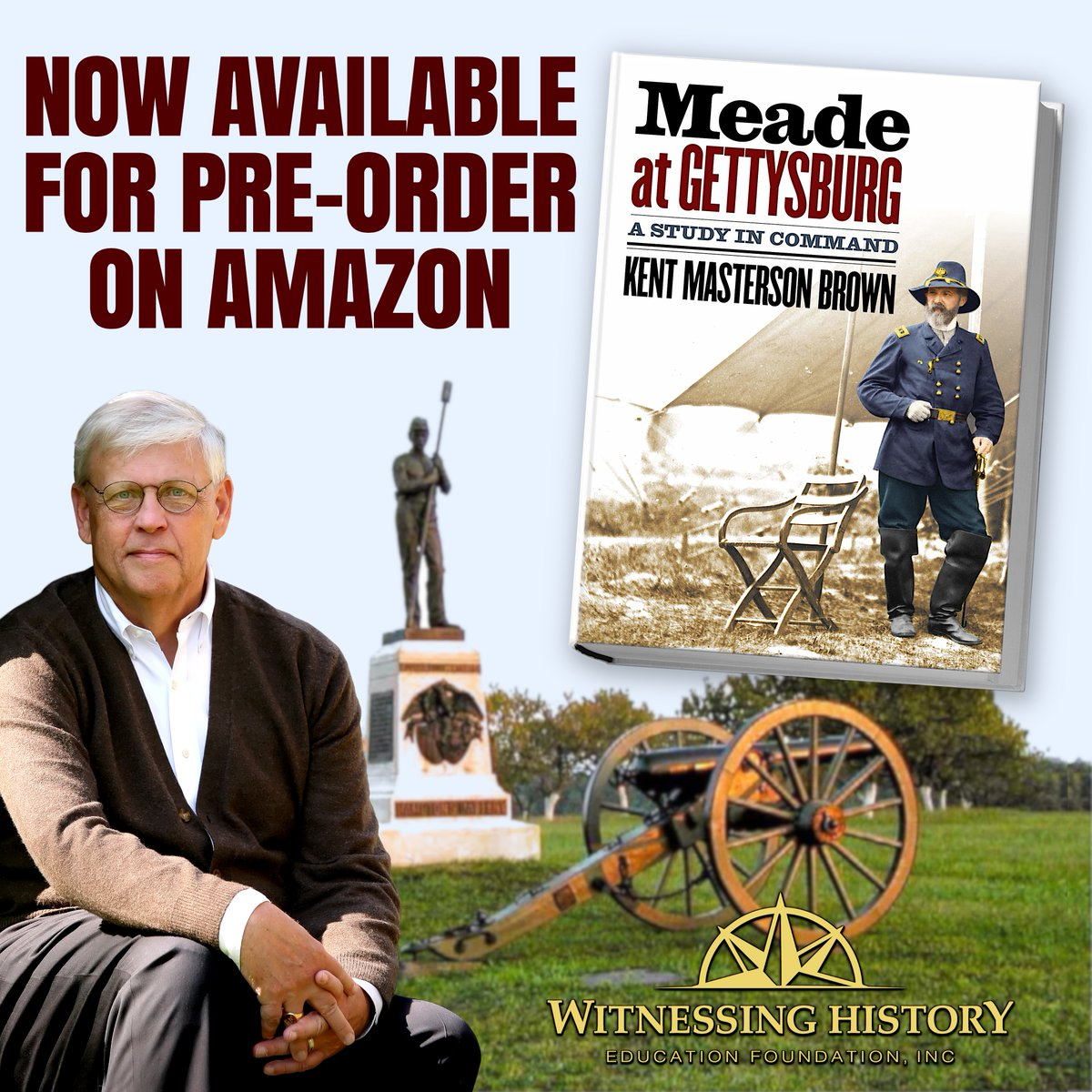 "test Twitter Media - The latest podcast episode is up on the Witnessing History YouTube channel!  Listen in to get a sneak preview of some tidbits from Mr. Brown's forthcoming book, ""Meade at Gettysburg: A Study in Command""! https://t.co/RXCeDzgVci"