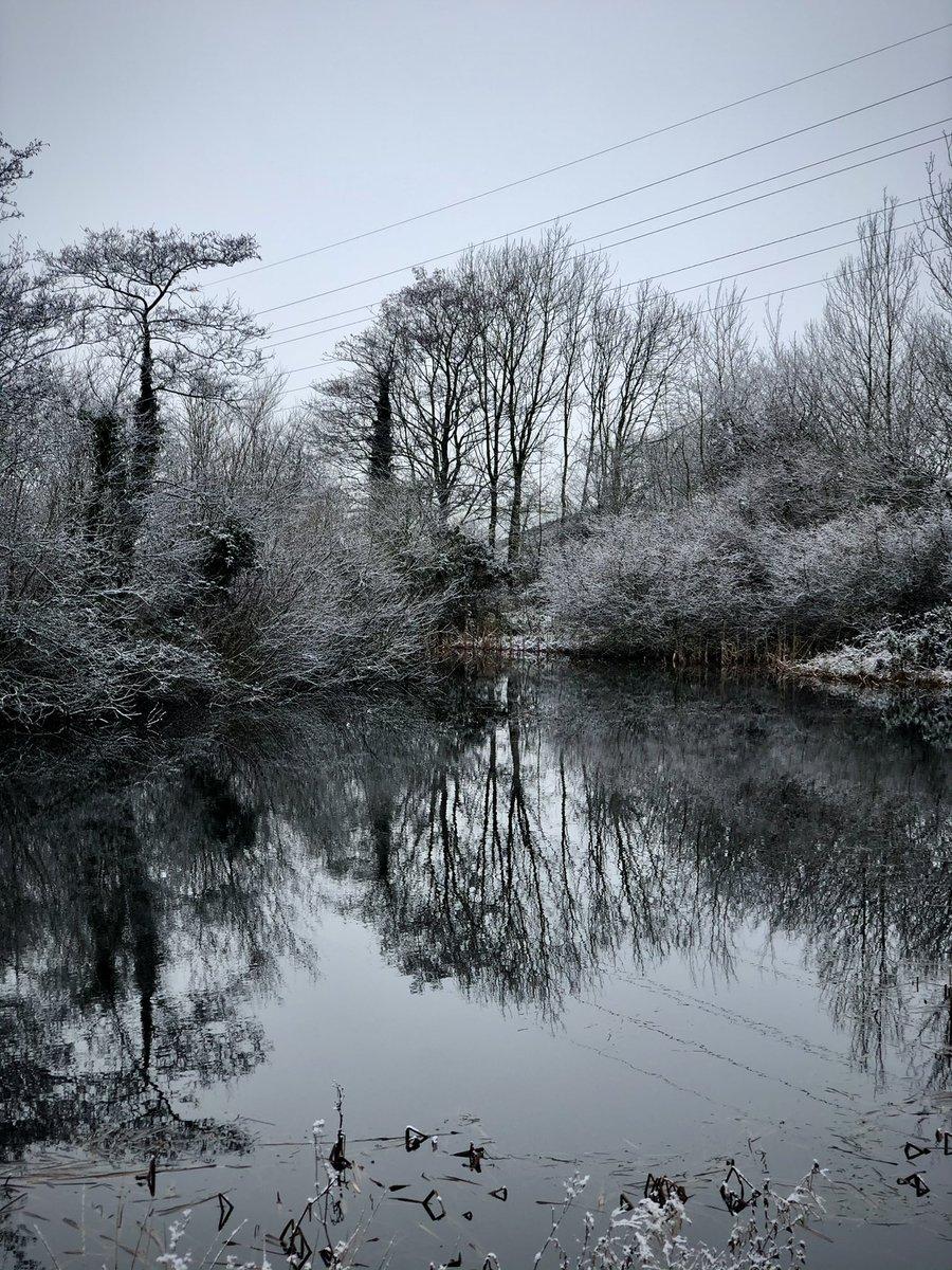Strickley pond, bit cold for a skinny dip today.