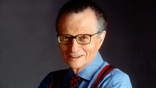 I am deeply saddened by the loss of Larry King who gave us so much. You will be missed and the world will most certainly not be the same without you. May your journey be enlightening and marvelous. #larryking #SaturdayMorning #journalist #broadcast
