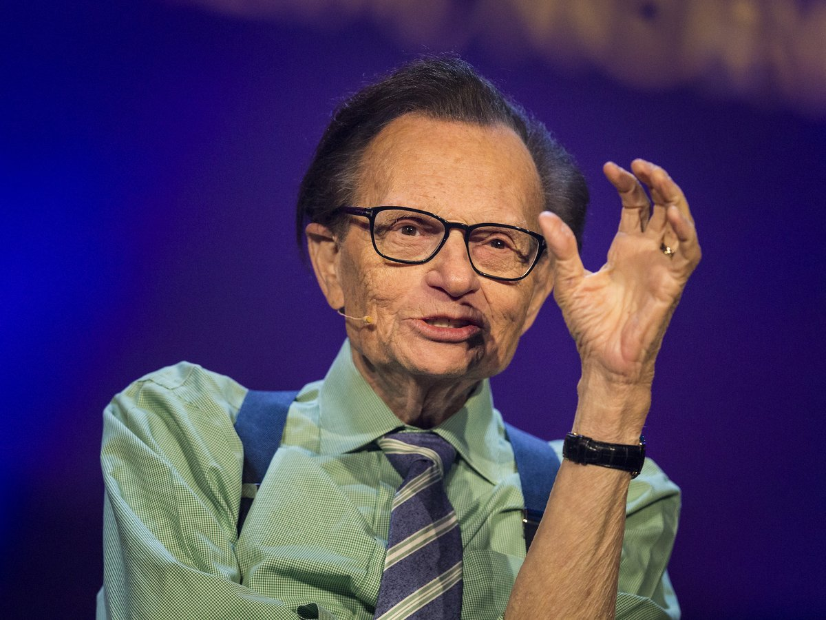 "JUST IN: TV host Larry King has died, aged 87.   He was best known as host of the ""Larry King Live"" interview show that ran in prime time on CNN from 1985 to 2010 https://t.co/llr9FZf8YC"