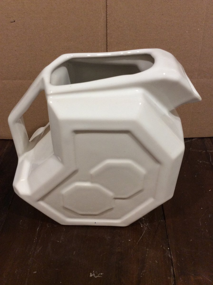 Excited to share the latest addition to my #etsy shop: Vintage Alamo Pottery White Geometic Cermic Pitcher 759 Made in USA Replacement Discounted Discontinued VintageFindsFound Texas History https://t.co/H0KNT7g7E4 #white #anniversary #christmas #no #ceramic #alamopott https://t.co/7RKZvHhv7E