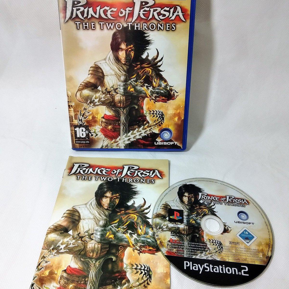 Prince of Persia: The Two Thrones (Sony PlayStation 2, 2005) - Includes Manual. Selling it on eBay!! #PlayStation2 #sony #princeofpersia #00s #games #gamer #ps2gamer #GamingLife #gamingcommuity #ebaycommunity #ebayuk #ebay #ebayseller #sellinggames