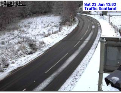 test Twitter Media - NEW❗️ ⌚️13:16  Another chilly day in the North, Here are some images from the #A82, #A9 and #A95❄️  Roads may be slippy this afternoon so do take extra care when travelling👍  The @metoffice have issued a YELLOW warning until 11am tomorrow #DriveSafe @NWTrunkRoads @NETrunkRoads https://t.co/c7Mn2ZOiIv
