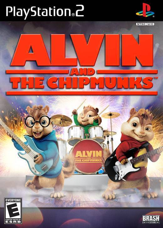 Enjoy cool rhythm games to rocking songs chipmunk style in Alvin and the Chipmunks #music #games #videogames #gaming #playstation