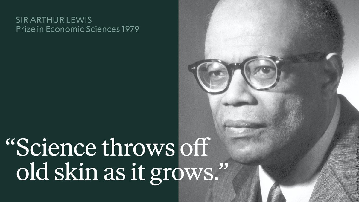 Sir Arthur Lewis originally wanted to be an engineer but as a young man in Saint Lucia, a British colony, in the 1930s, he was not able to because of the colour of his skin. Instead Lewis went onto study economics.   Learn more: