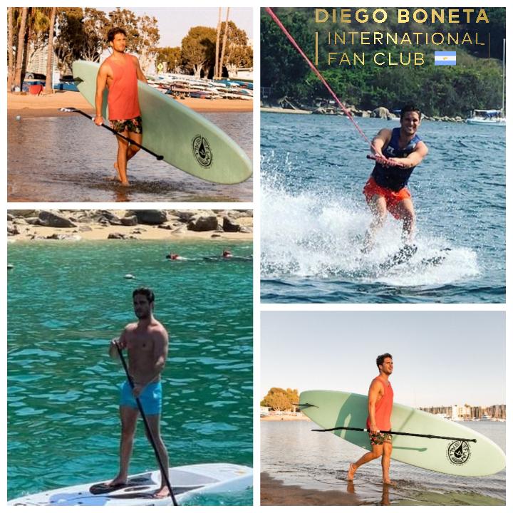Un poco de deporte acuático en éste verano 2021😎 🌞🏖🏄🚣  Que tengan un hermoso sábado!!  #picoftheday #weekend  #DiegoBoneta  #Diegobonetaifcarg
