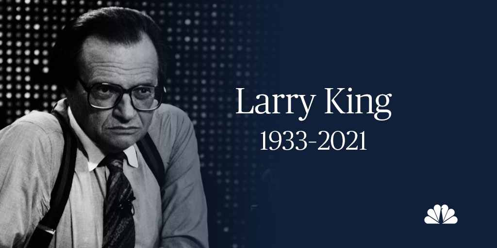 Replying to @NBCNews: Larry King has died at age 87.