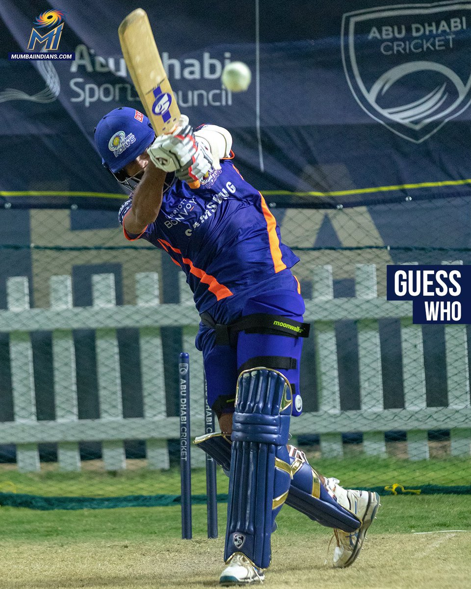 Hint: His only First-Class fifty came in a recent game on Australian soil 😋  #OneFamily #MumbaiIndians
