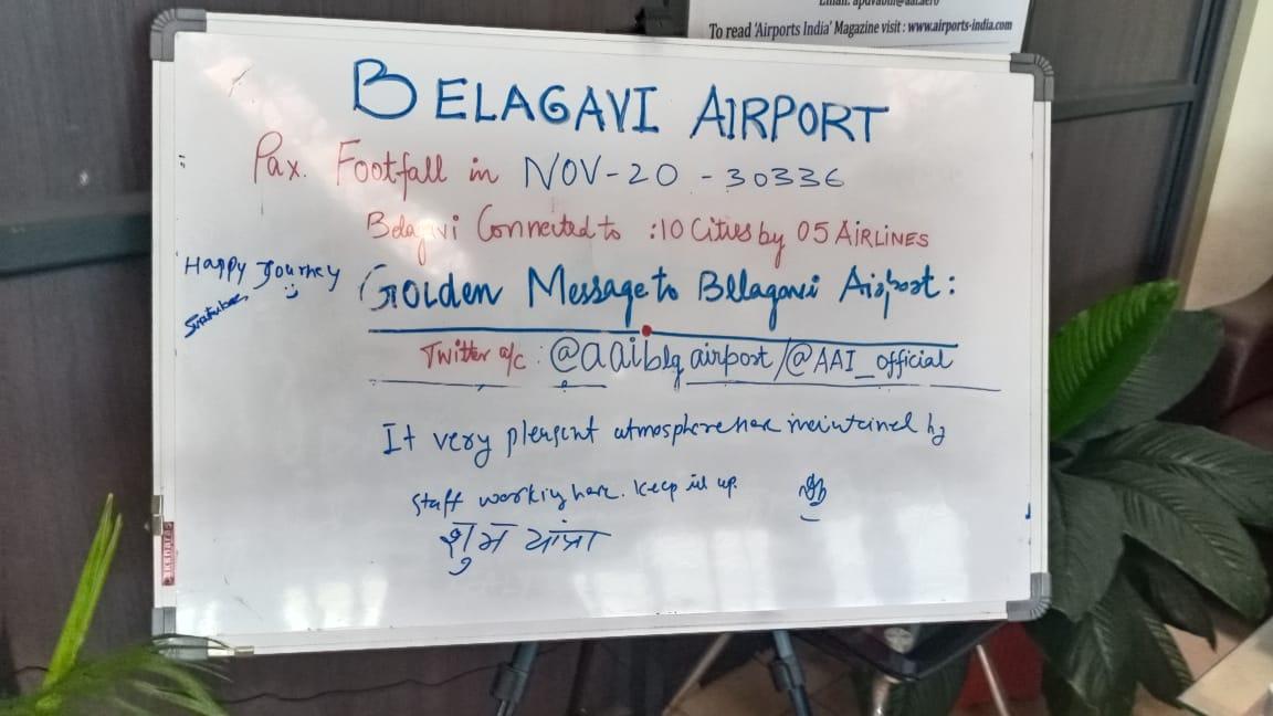 "Your Kind Messages are Motivating MANTRA for us: Message:""Happy Journey"". Pl visit again. @AAI_Official @MoCA_GoI @ushapadhee1996  #SabUdenSabJuden  #Unite2FightCorona @OfficialStarAir @flyspicejet @IndiGo6E @allianceair"
