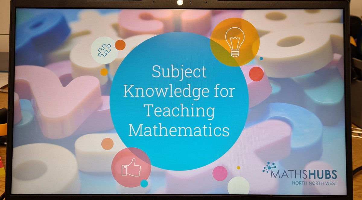 RT @JonStewMaths Looking forward to delivering this @NCETM @NNWMathsHub Workshop on Number Sense to nearly 100 Teaching Assistants from around the north west. @NumSenseMaths
