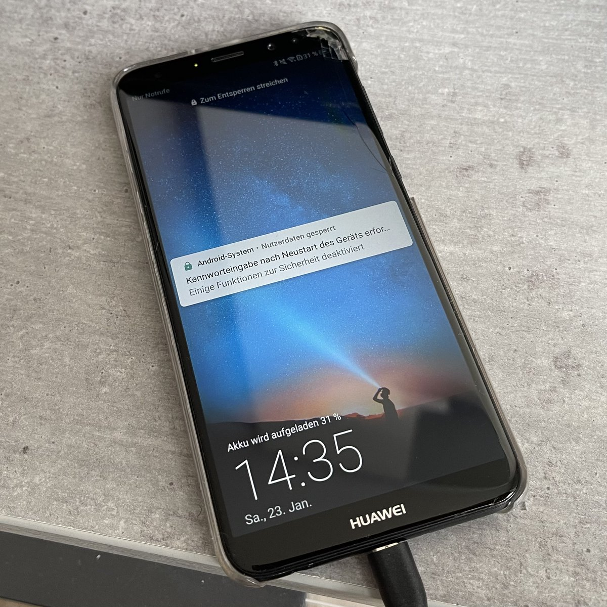 System nutzerdaten gesperrt android How to