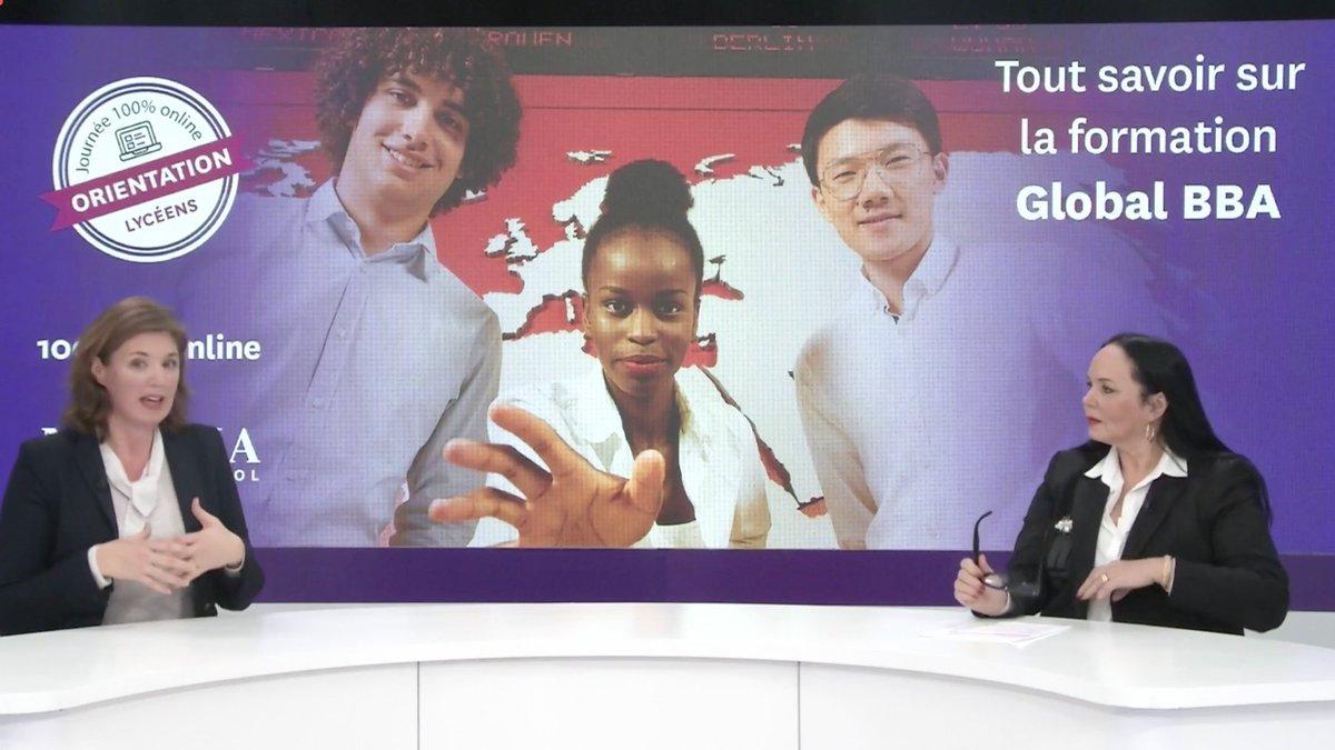 """#NEOMALive   """"Faire preuve de créativité avec le projet Born Global du #startup lab, trouver du sens avec le Social Engagement Project, tout cela dans un environnement multiculturel c'est un exemple de la richesse du Global BBA"""". - @SarahCooper76  #ConcoursSESAME #Parcoursup2021 https://t.co/aU8iH658eK"""