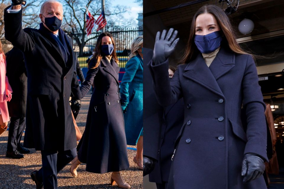 #Fotogalería 📸 Así es el estilo de #AshleyBiden, la hija pequeña del nuevo presidente de #EstadosUnidos →   #Biden #Moda #Estilo #InaugurationDay #Inauguration