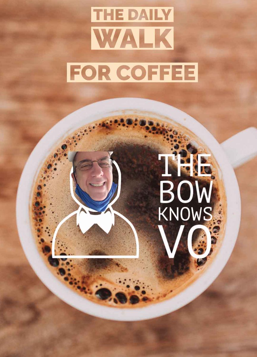 Do you have a #sidehustle?  Later this #SaturdayMorning, on a Daily Walk for Coffee, I'll get into this as part of a larger subject.  #thebowknowsvo #dailywalkforcoffee #personalbranding #voiceover #videoproduction #SocialMediaManagement #wfhlife