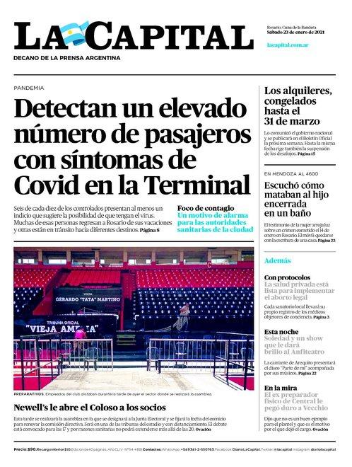 #Informate | Las tapas de los diarios de hoy.  #PanoramaNacional #MaradonaEterno #D10S #LuqueComplicado #Coronavirus #VacunaRusa #AlquileresCongelados #PoliciaPro #FinancistaAhorcado #Miami #Lanus #DefensayJusticia