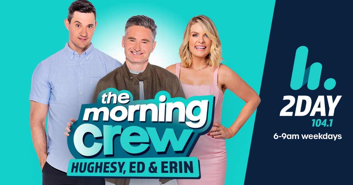 Tune in as @2DayFM enters a new era with the reboot of The Morning Crew with @HughesyEdErin   You can expect to hear the familiar sound of @Hughesy and @mredkavalee with the addition of @Erin_Molan 6-9am weekdays! https://t.co/delL81kLsQ