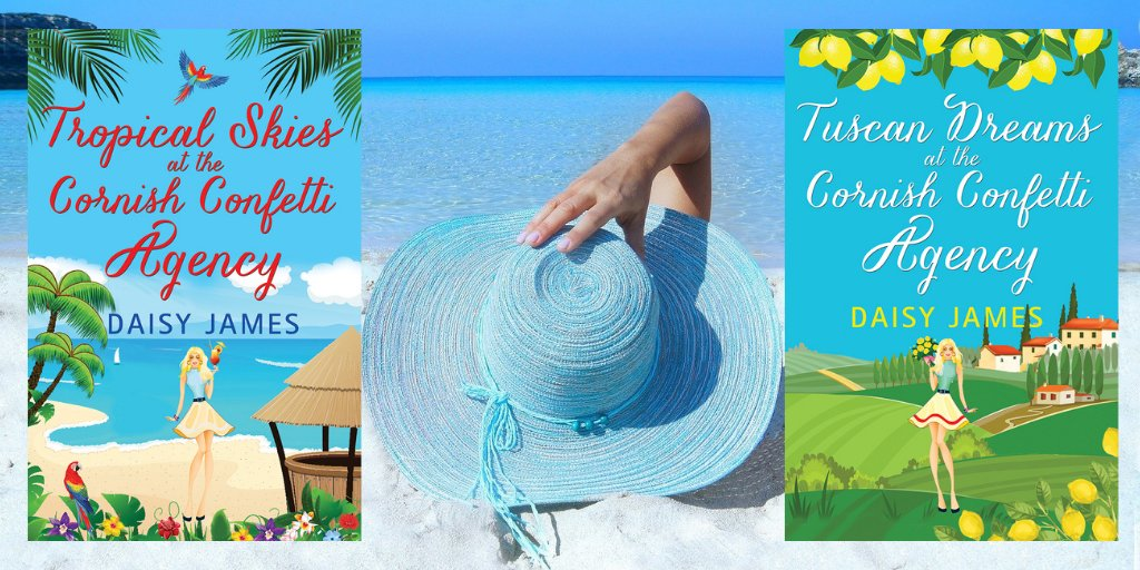 Fancy a trip to sunny Cornwall?☀️⛱️ Why not head to the Cornish Confetti Agency?🎊🎉🌺 *Free* on #KindleUnlimited #Saturdaymorning #kindle #weekendreads #amreading