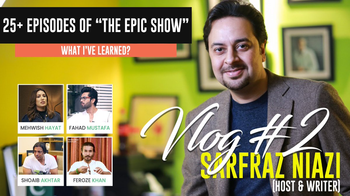 """""""As a new year is upon us, we reflect on how we've grown, what we've learned and our plans for the future"""" @NiaziFazi @TheEpicShow3 Watch the full vlog⬇️   #thinkepicpk #explore #epicresolution #epicshow #2020WRAPPED #2021newyear  #lifeandlearning #Respect"""
