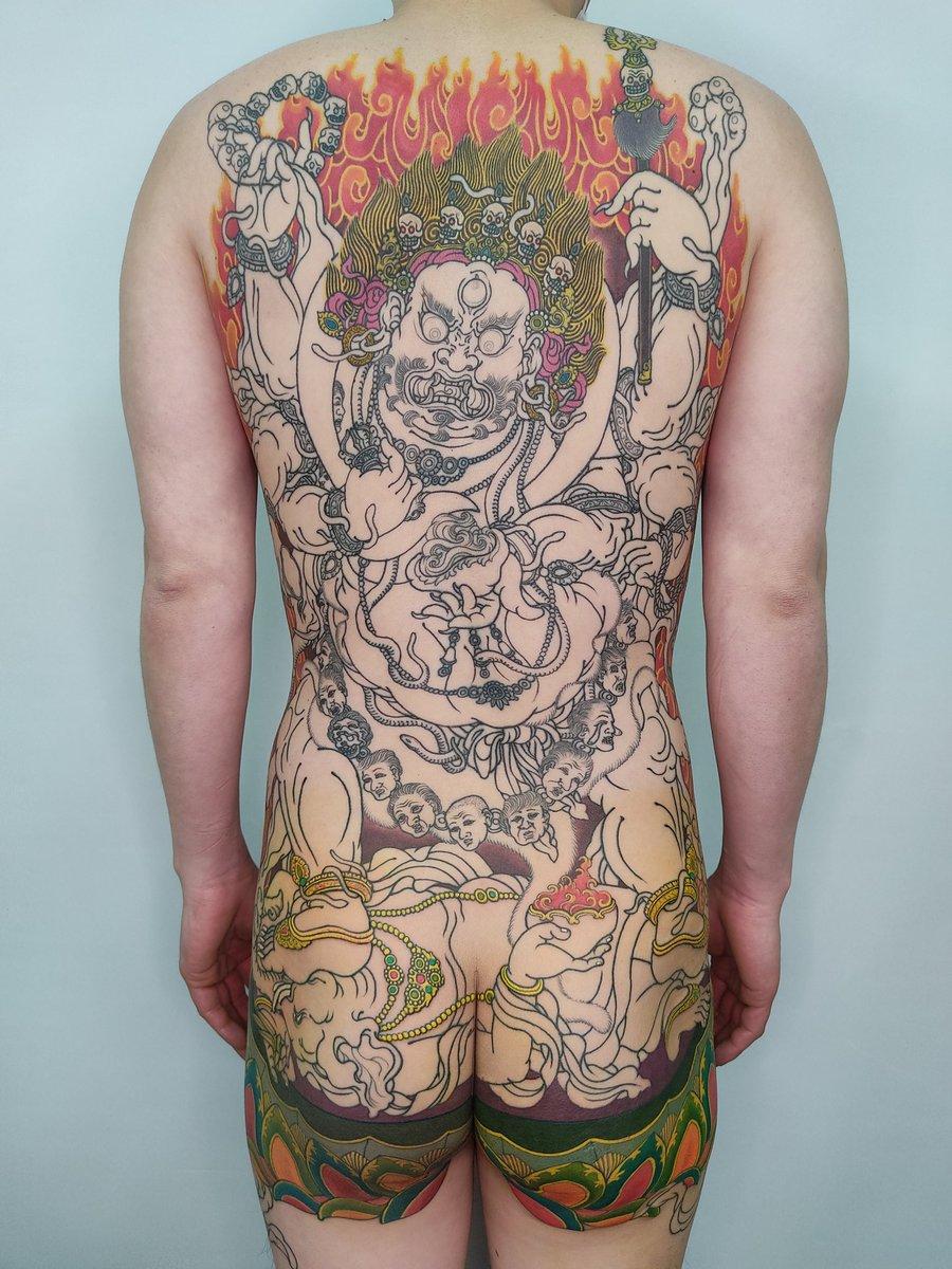刺青 バダサイ
