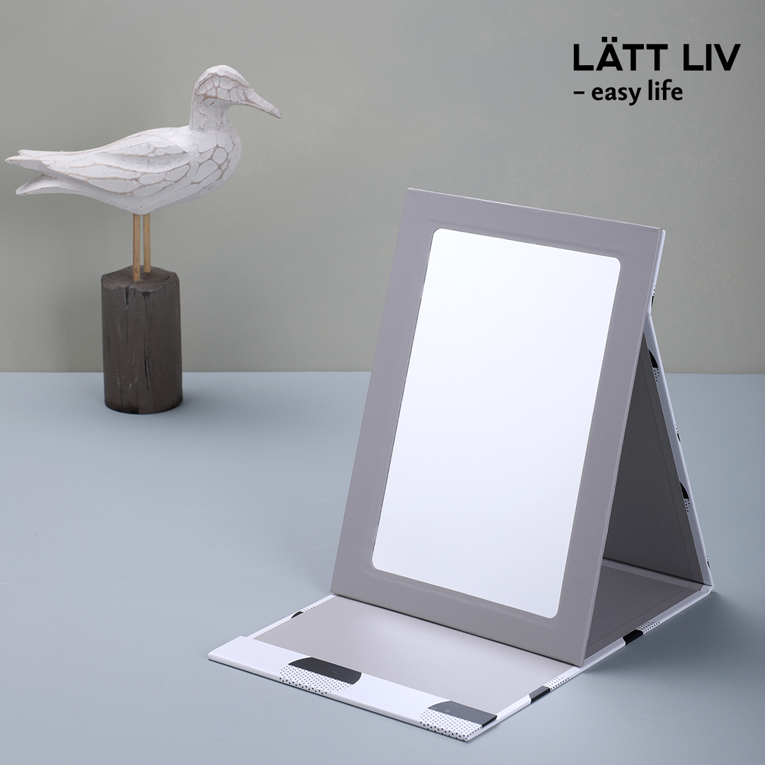 LÄTT LIV Foldable and Stand-up Mirror   #mirror #fashion #brand #home #household #lifestyle #affordable #newretail #design #franchise #lattliv