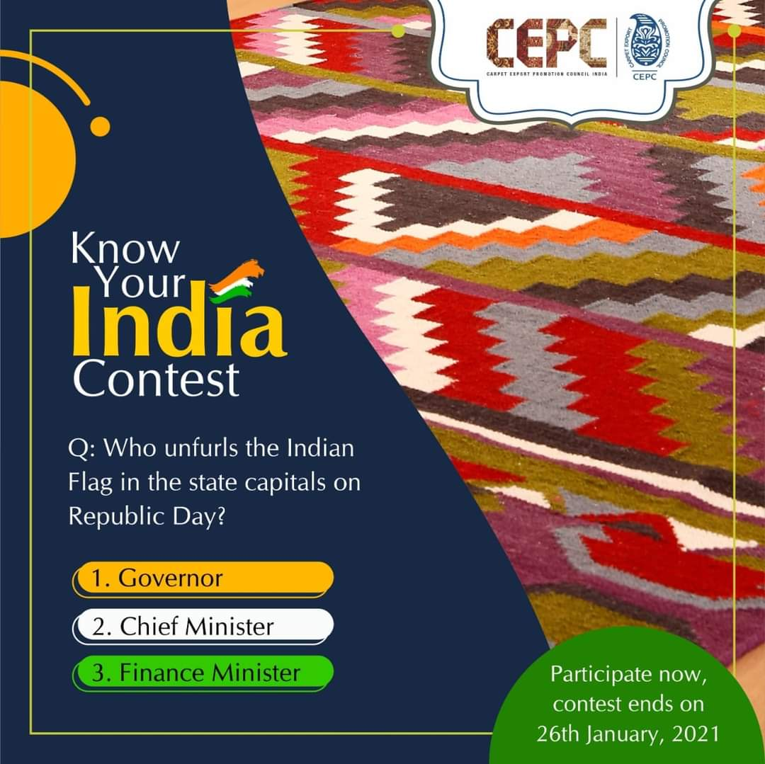 #Contest: #RepublicDay is celebrated every year on 26th January and Indian National Flag is unfurled on this occasion. Who unfurls the Indian Flag in the state capitals on Republic Day? Share with us in the comments section, tag maximum friends & use #KnowYourIndia.