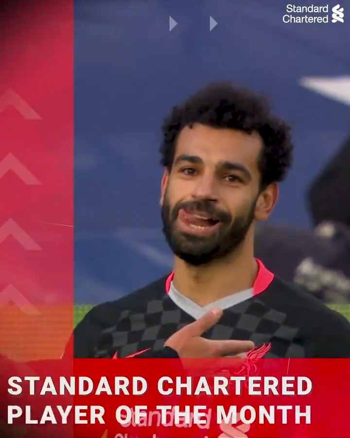 December's @StanChart Player of the Month, @MoSalah 🙌