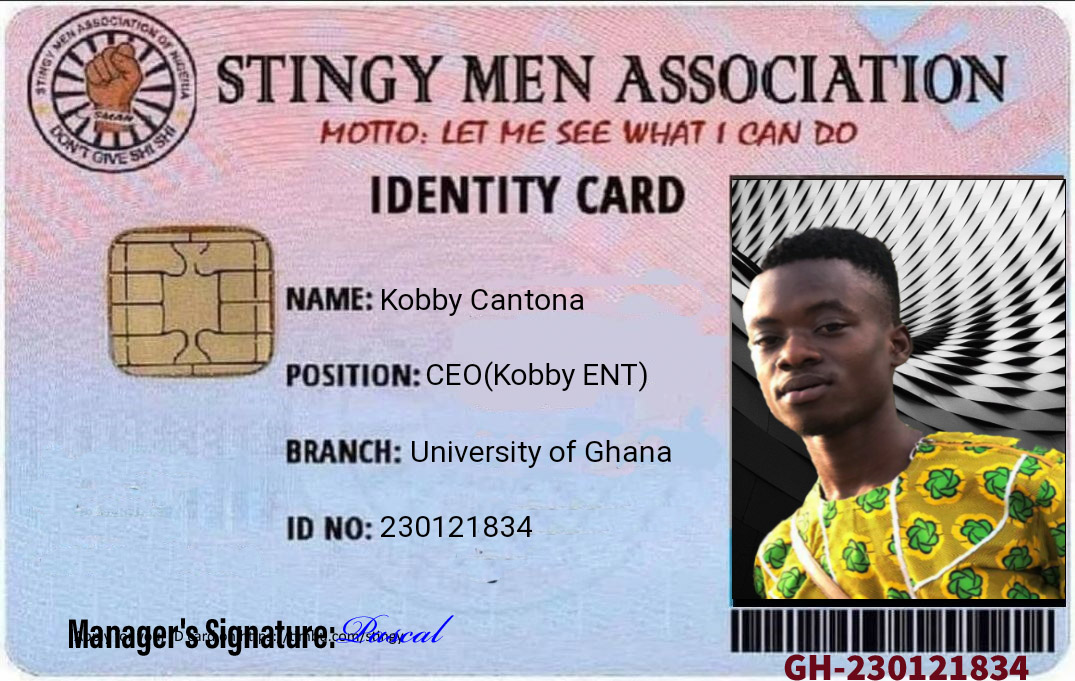 WhatsApp +233554535326 For your free Stingy Men Association card https://t.co/Fx0T1ylt0U