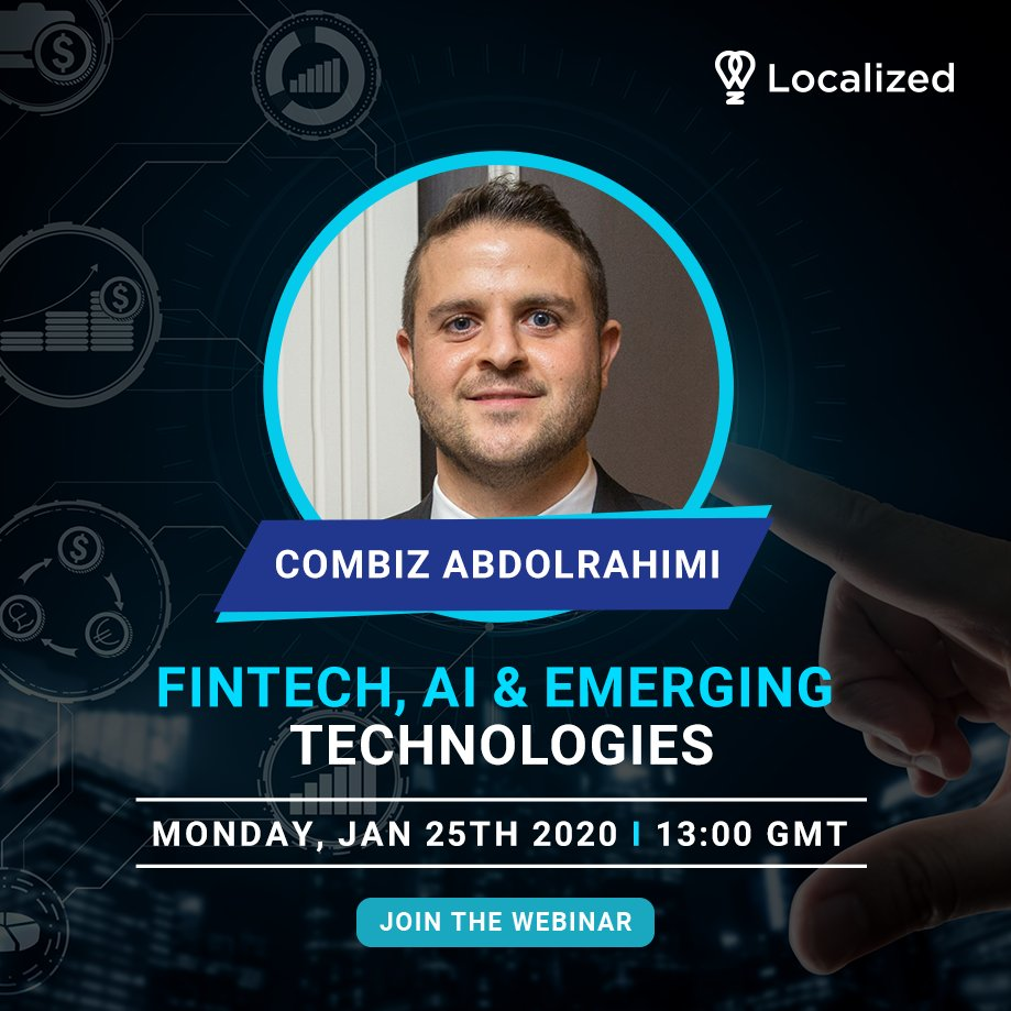 Curious about careers in emerging technologies?  @Abdolrahimi is an expert with over 15 years of experience in the public & private sectors. He'll talk about what you can do to prepare yourself for a career in next-generation technology  Jan 25th 13:00 GMT