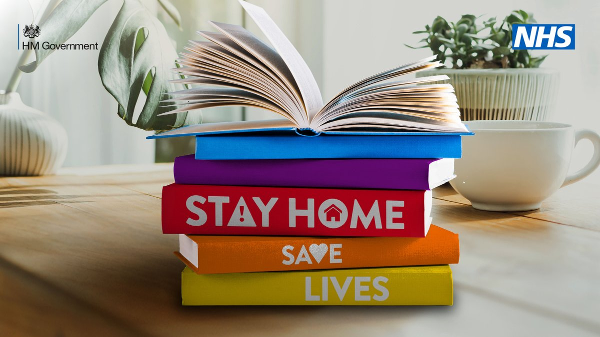 By staying home this weekend 📚  You are protecting the NHS 💙  And saving lives 🦸♀️  #StayHome #StayHomeSaveLives