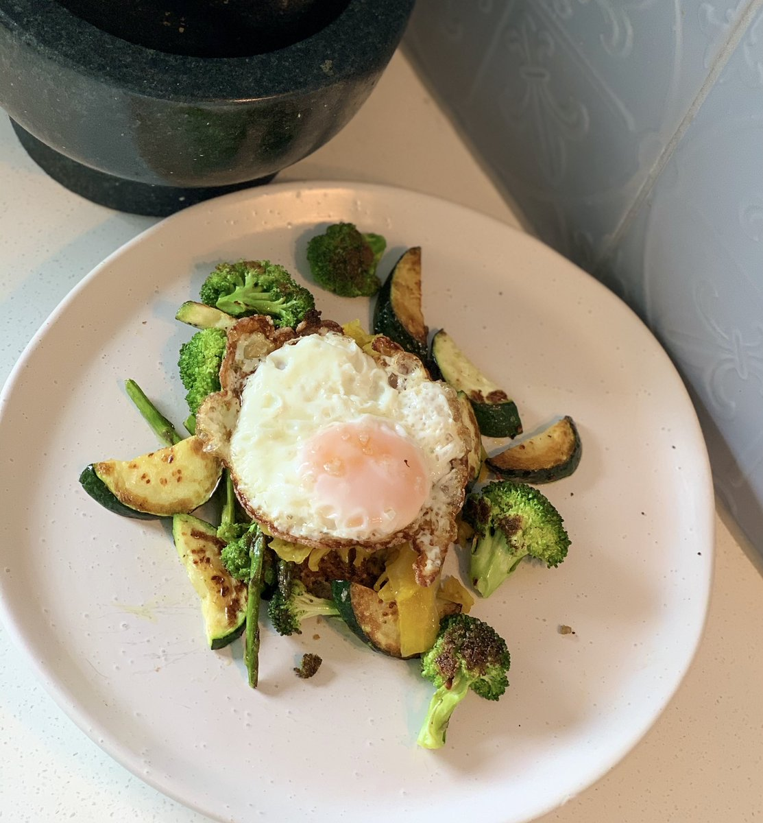 What's your breakfast look like? #goodfats #protein #glutenfree #wholefoods #greenveggies
