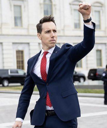 @SenHawleyPress @HawleyMO Senator Josh Hawley has shown that he'd rather rule in a dictatorship than serve in a democracy. His #sedition will not be forgotten or forgiven. #ExpelHawley.