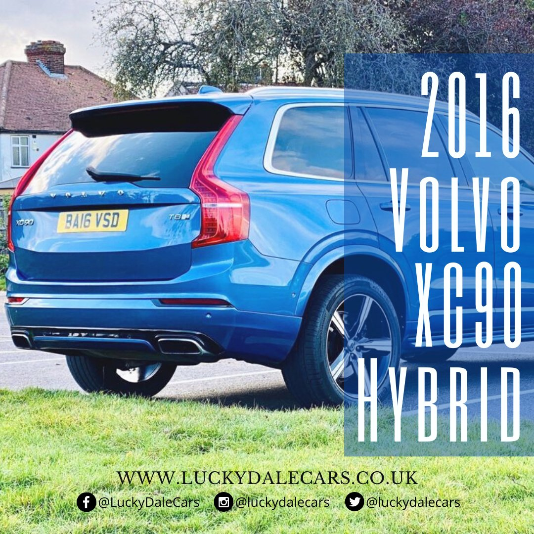 Used Volvo XC90 T8 Twin Engine Hybrid Cars for Sale   Lucky Dale Cars Ltd  More Information:  Call us @ 020 80338958   07441 909524  #Volvo #volvocars #SaturdayMorning #Caturday