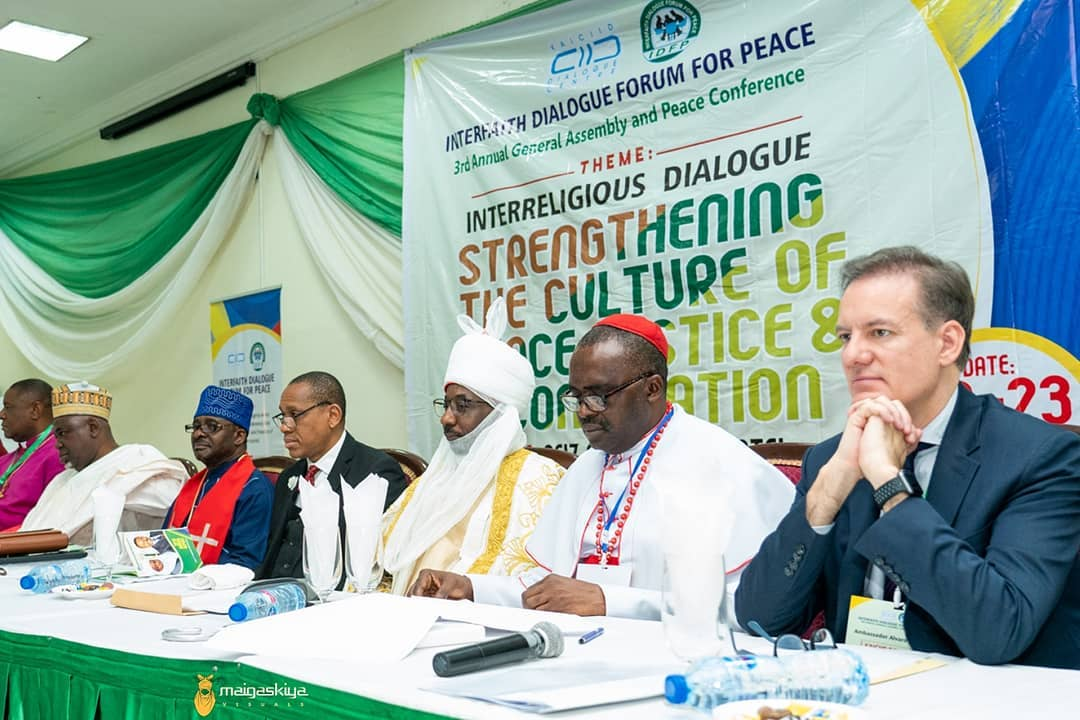 Flash Back 1 year Ago  22January2020 To 23January2020  The Emir of Kano; His Highness Muhammad Sanusi II attended the Interfaith Dialogue Forum for Peace. The 3rd Annual General Assembly and Peace Conference started today 22nd January 2020 at Reiz Continental Hotel, Abuja https://t.co/YHRD8TvZwY
