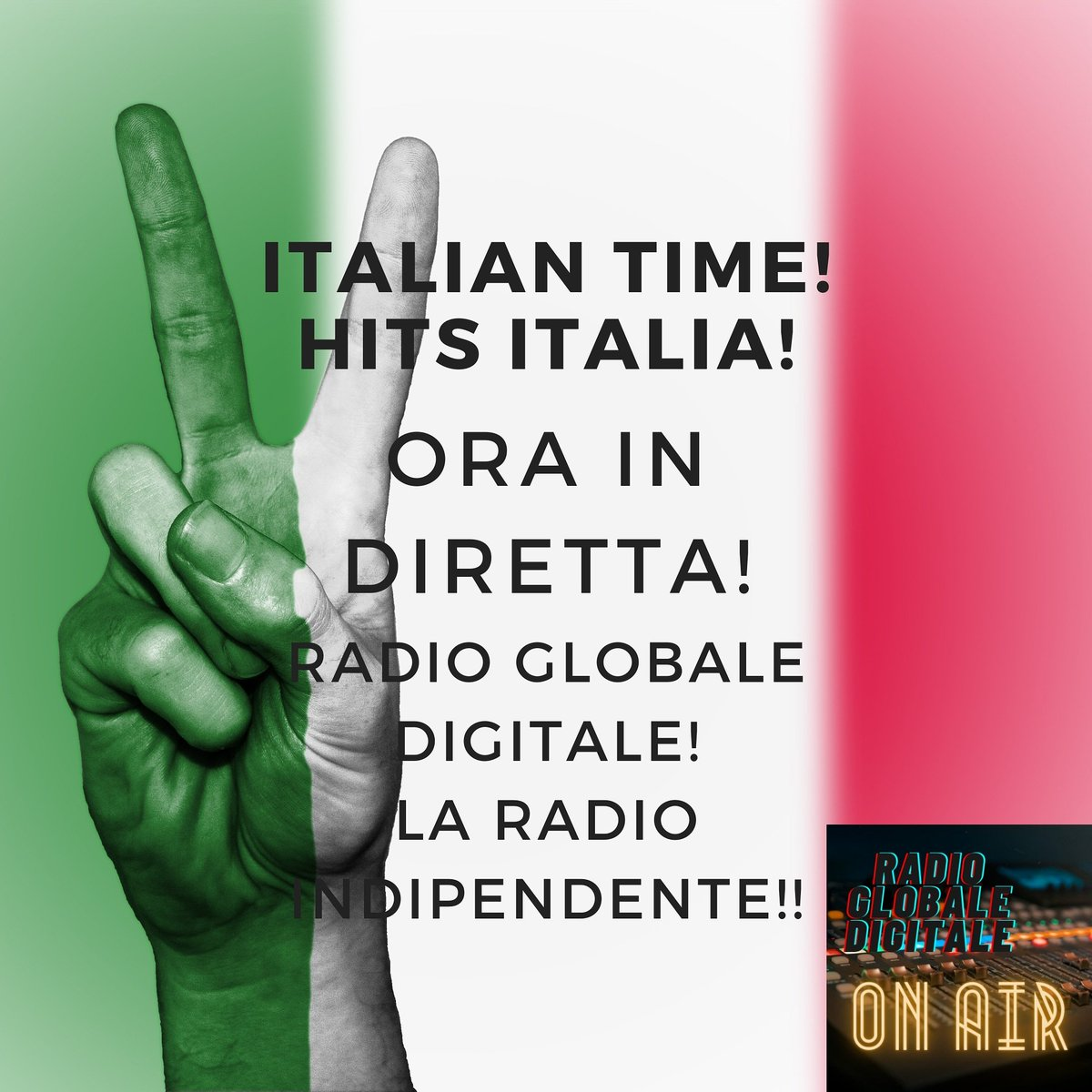 Now on air!!! Listen RADIO GLOBALE DIGITALE!!   #artiste #beat #beats #best #favoritesong #genre #goodmusic #hiphop  #listentothis #love #lovethissong #melody #music #myjam #newsong #party #partymusic #pop  #remix #repeat #rnb #song #songs #TagsForLikes