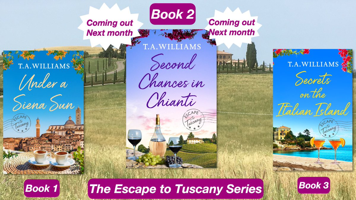"Not Long To Wait Now... ""This author's blissful books are guaranteed to transport you to another country, and to totally captivate you from start to finish."" #Romance @canelo_co #Tuscany  …"