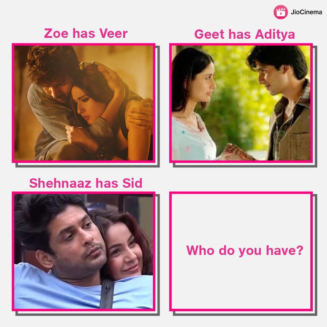 Tag the special one jisse aap Aaj Kal Love karne lage ho 🥰❤️  #shehnaazgill #sidharthshukla #SidNaaz #saraalikhan #kartikaaryan #kareenakapoor #shahidkapoor
