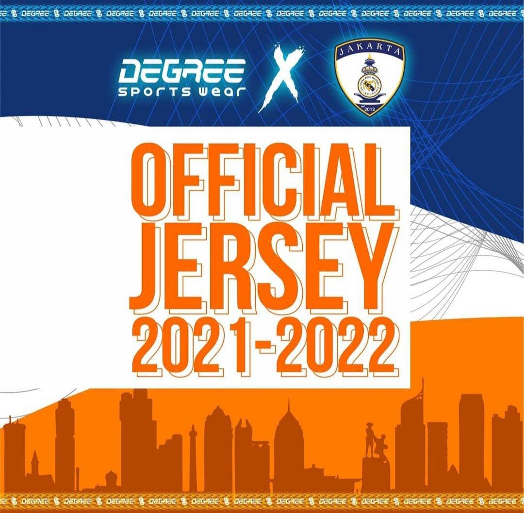 Official Jersey PRMI Jakarta 2021 - 2022  PRMI Jakarta X DEGREE  #HalaMadrid #VamosMijak