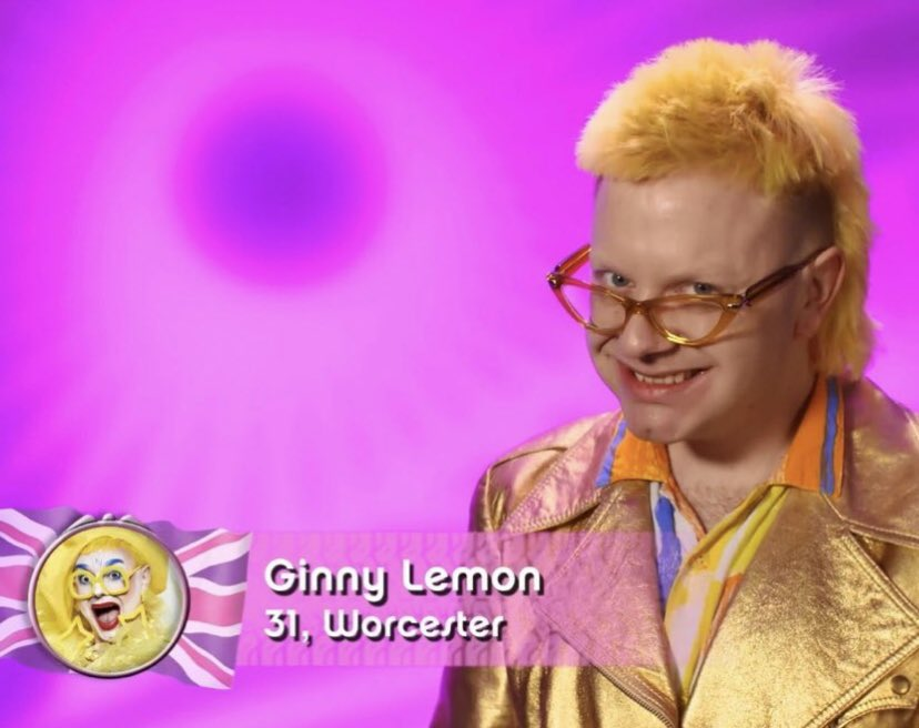 "If Ginny Lemon doesn't do Pauline ""Hello job seekers!"" from 'League of Gentlemen' in the snatch game it should be an automatic elimination! #DragRaceUK @dragraceukbbc"