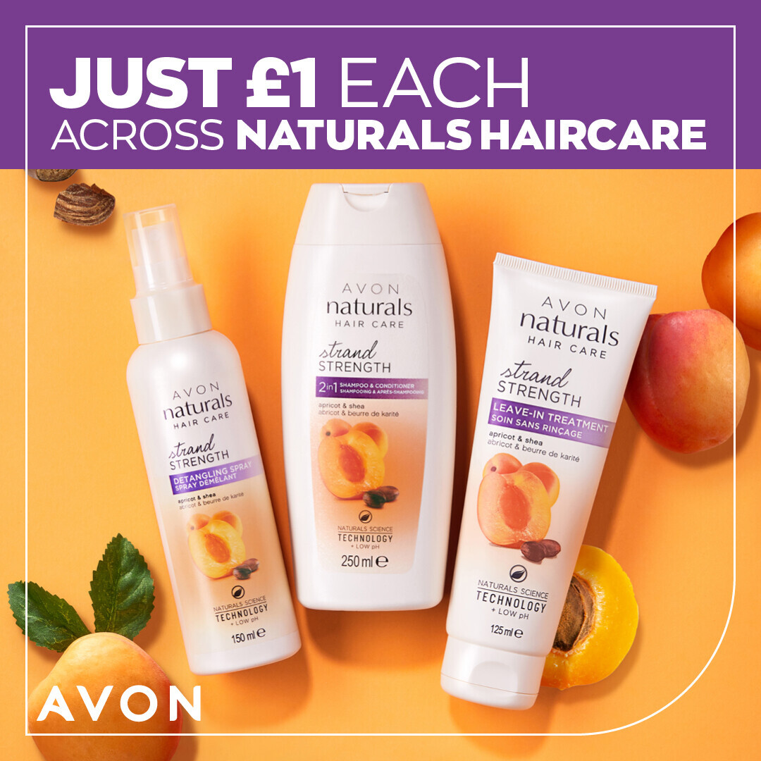Oh wow - I cannot believe the price of these products! 💛 Loads of products at only £1 each! Plus, they are products you can use every day. Who's planning to stock up? #HairCareEssentials #Haircare #AvonHairCare #Hair #LoveYourLocks  £1