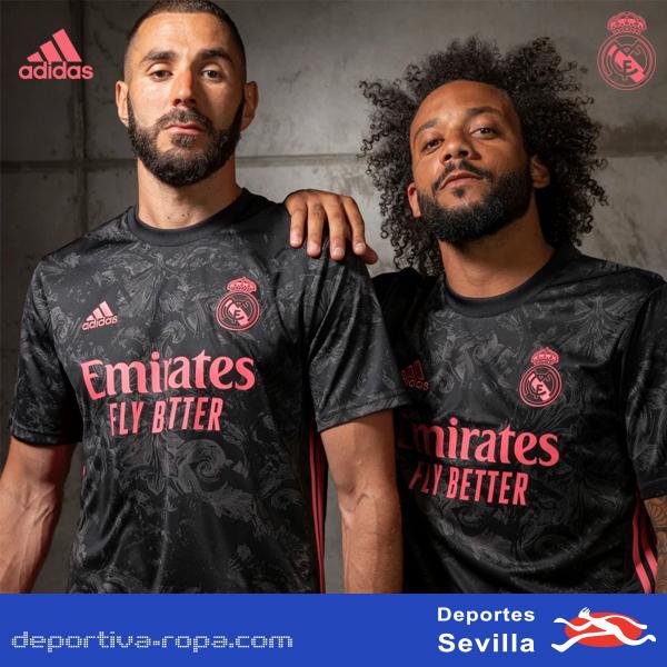 3ª Camiseta Oficial del Real Madrid 2020/2021. ADIDAS. En Deportes Sevilla. @sergioramos @realmadrid @iscoalarcon @karimbenzema #modric #edenhazard #nike #lukamodric #mbappe #adidas #isco #zidane #juve #ramos #madridistas #neymarjr #uefachampionsleague