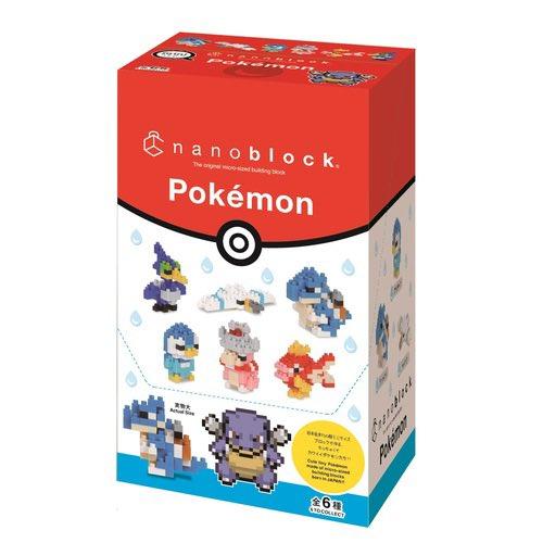 Nuevos nanoblocks de Pokémon a la venta en Japón.