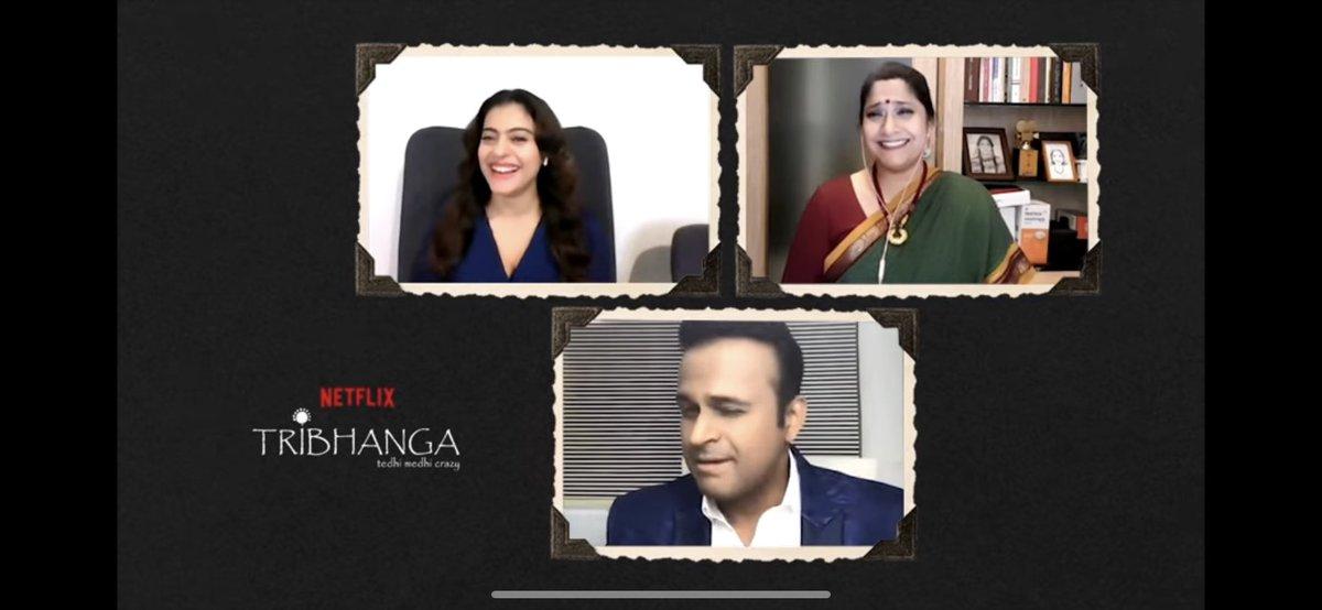 Did @itsKajolD & @renukash lose films because of their opinions?  I admire ur strength & fearlessness #Kajol & #RenukaShahane! It's strong women like u who teach us the power of #NaariShakti  Full video:   #SidK #Tribhanga @ajaydevgn @ADFFilms @NetflixIndia