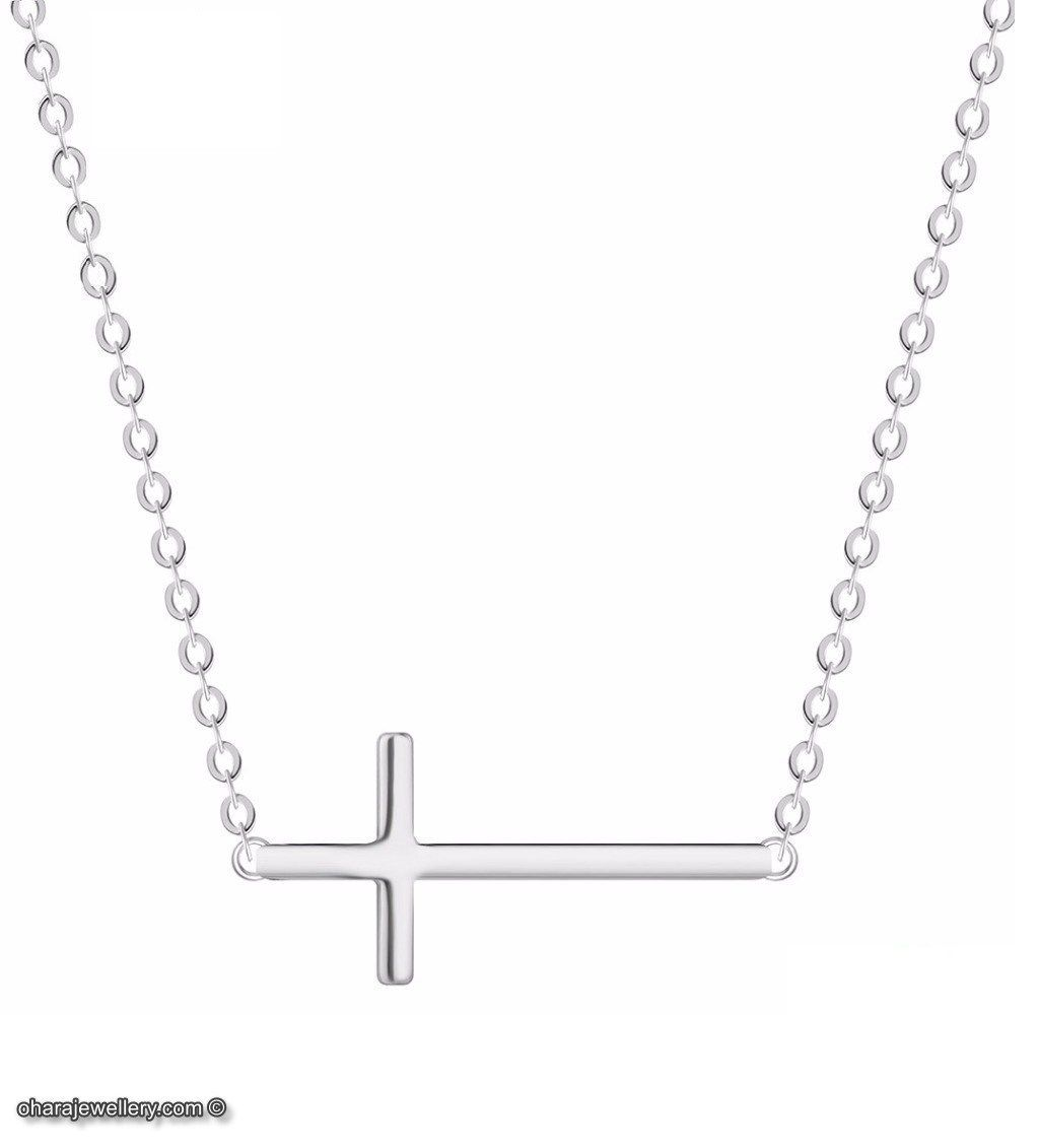 925 Sterling Silver Cross Charm Necklace £9.99! #fashion #photography #instajewelry #art #love #style #design #bride #beauty #januarysale #januarysales 😍