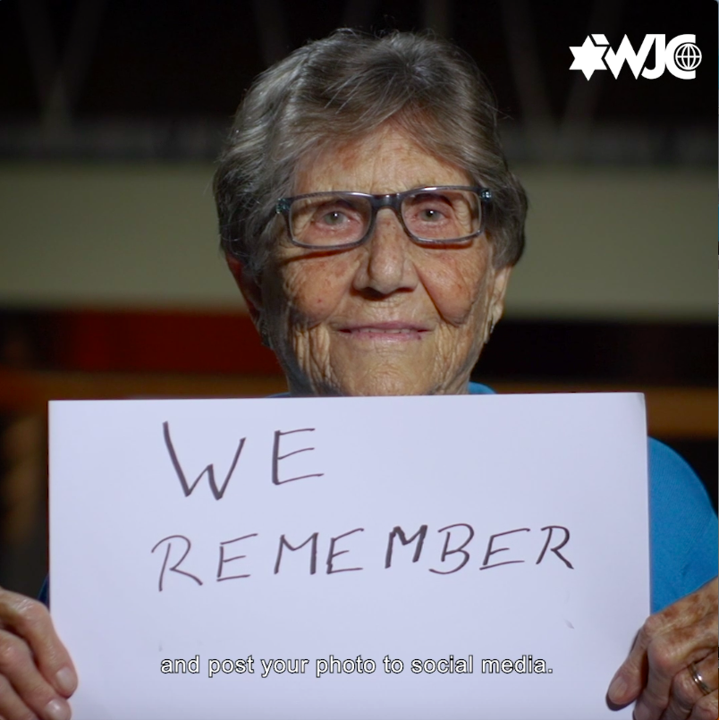 I really cant forget... they were collecting the dead bodies. Ruth Meissner was 13 when she was taken to the Theresienstadt concentration camp. Join #WeRemember for Intl Holocaust Remembrance Day, so that the stories of survivors are never forgotten. wjc.org/weremember